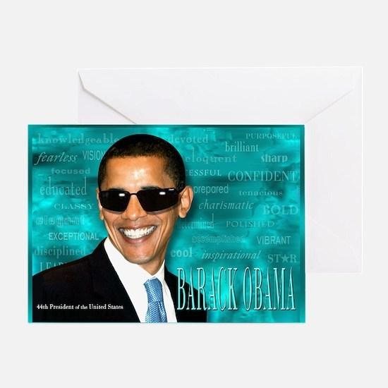 Obama Cool Greeting Card