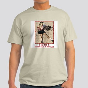 Cowgirl Bad Ride Light T-Shirt