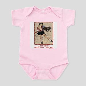 Cowgirl Bad Ride Infant Bodysuit