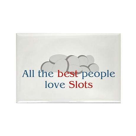 Slots Rectangle Magnet (10 pack)