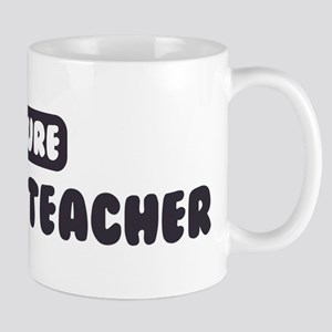 Future History Teacher Mug