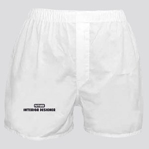 Future Interior Designer Boxer Shorts