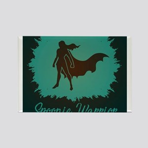 Spoonie Warrior Logo Rectangle Magnet