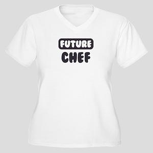 Future Chef Women's Plus Size V-Neck T-Shirt