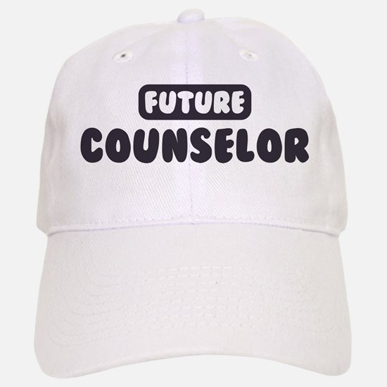 Future Counselor Baseball Baseball Cap