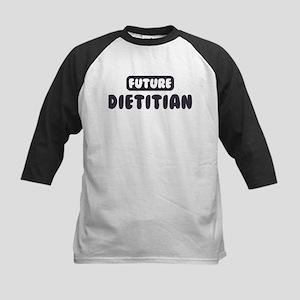 Future Dietitian Kids Baseball Jersey