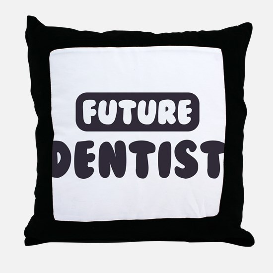 Future Dermatologist Throw Pillow
