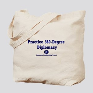 DP-Practice 360-Degree Diplomacy Tote Bag