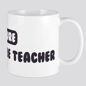 Future Agriculture Teacher Mug