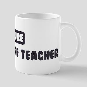 Future Agriculture Teacher Mug