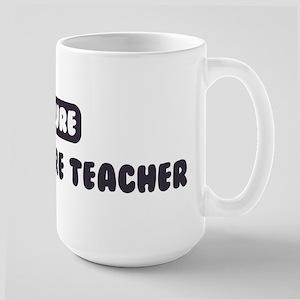 Future Agriculture Teacher Large Mug
