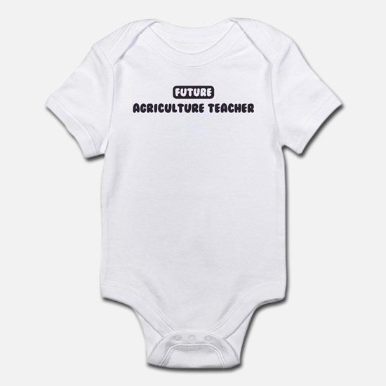 Future Agriculture Teacher Infant Bodysuit