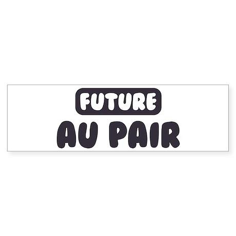 Future Au Pair Bumper Sticker (10 pk)