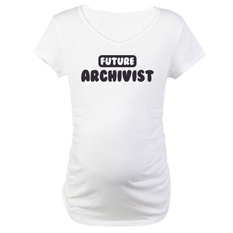 Future Archivist Maternity T-Shirt