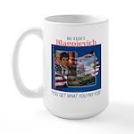 Re-Elect Blagojevich Large Mug