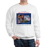 Re-Elect Blagojevich Sweatshirt