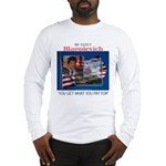 Re-Elect Blagojevich Long Sleeve T-Shirt