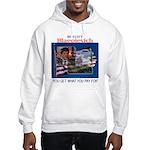 Re-Elect Blagojevich Hooded Sweatshirt