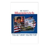 Re-Elect Blagojevich Postcards (Package of 8)