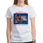 Re-Elect Blagojevich Women's T-Shirt