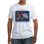 Re-Elect Blagojevich Fitted T-Shirt