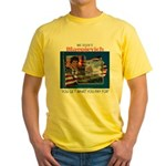 Re-Elect Blagojevich Yellow T-Shirt