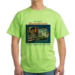 Re-Elect Blagojevich Green T-Shirt