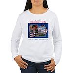 Re-Elect Blagojevich Women's Long Sleeve T-Shirt