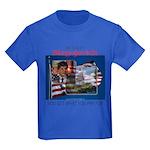 Re-Elect Blagojevich Kids Dark T-Shirt
