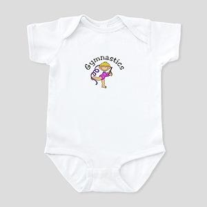 Blonde Gymnastics Ribbon Infant Bodysuit