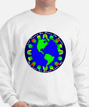 Let There Be Peas On Earth... Sweatshirt