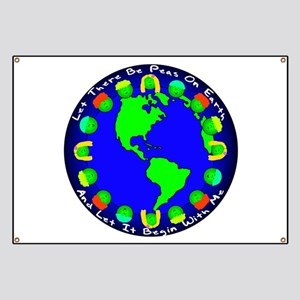 Let There Be Peas On Earth... Banner