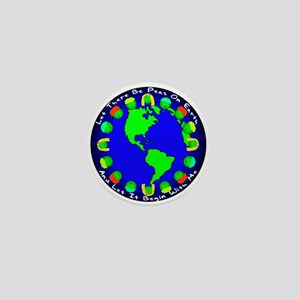 Let There Be Peas On Earth... Mini Button