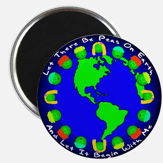 Let There Be Peas On Earth... Magnet