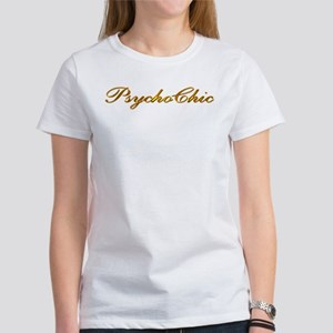 Gold PsychoChic Women's T-Shirt