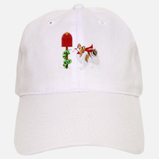 Christmas Papillon Mail Sable Baseball Baseball Cap