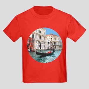Venice Gondola original photo - Kids Dark T-Shirt