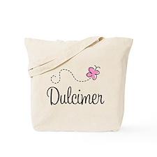 Pretty Dulcimer Tote Bag