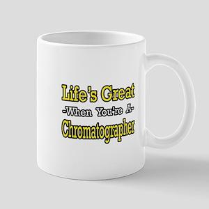 """""""Happy Chromatographer"""" Mug"""