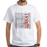 Twilight quotes Mens Classic White T-Shirts