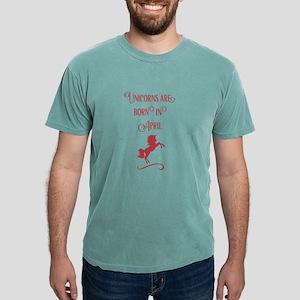 Unicorns Are Born In April T-Shirt