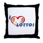 Lotto Throw Pillow