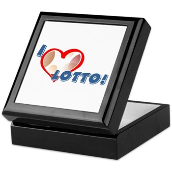 Lotto Keepsake Box
