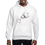 Polar Bear & Cub Hooded Sweatshirt