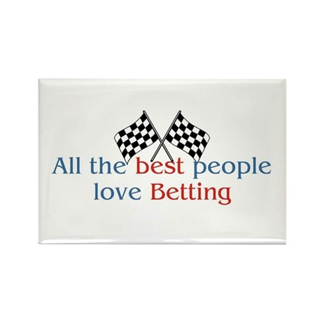 Betting Rectangle Magnet (10 pack)