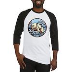 Polar Bear Baseball Jersey Wildlife Design