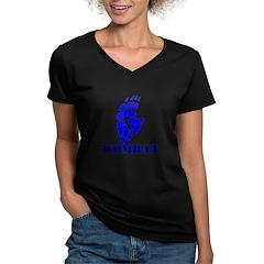 Blue Wombat Footprint Shirt