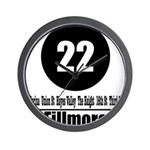 22 Fillmore (Classic) Wall Clock