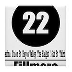 22 Fillmore (Classic) Tile Coaster