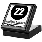 22 Fillmore (Classic) Keepsake Box